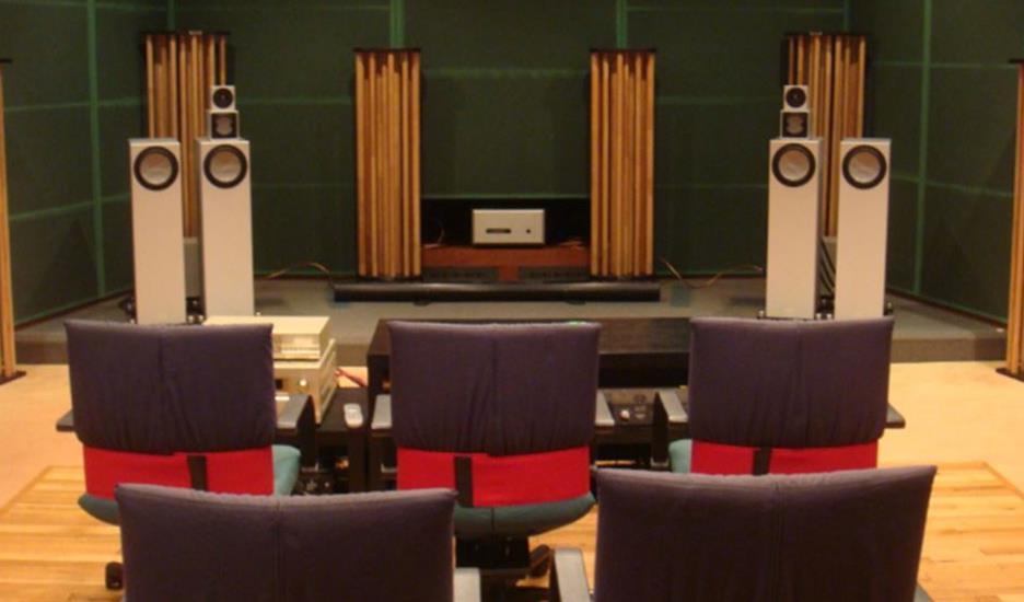 オーディオ音響視聴室視聴体験